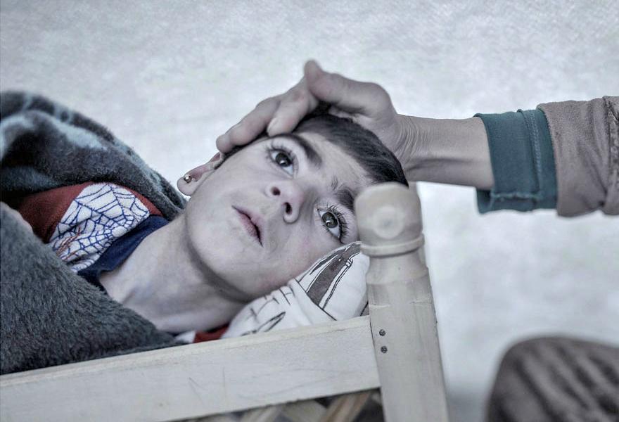 Where children sleep Syrian refugee crisis (6)