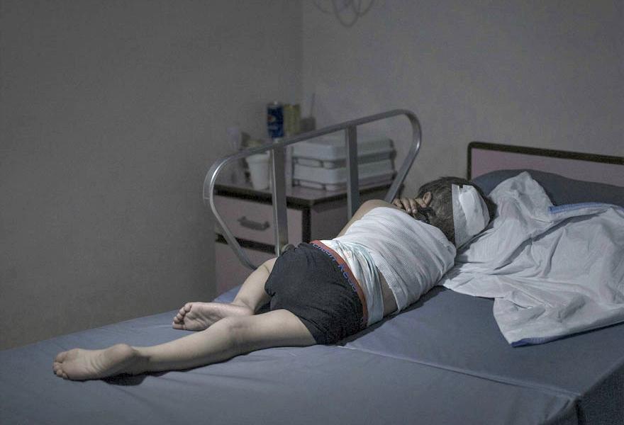Where children sleep Syrian refugee crisis (8)